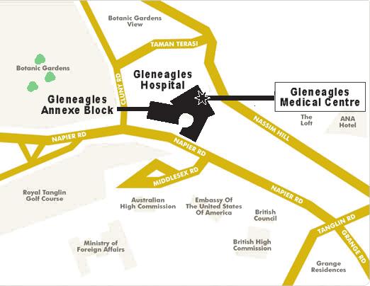Dermatology Associates Location Map